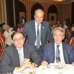 (από αριστερά) κ. Γ. Κουκούλης, κ. Δ. Συκιώτης, κ. Δ. Χιώτης